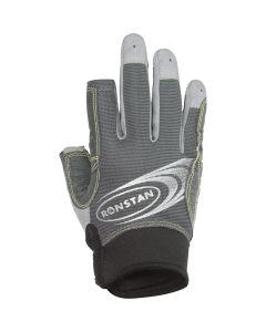 Ronstan Sticky Race Glove - 3-Finger - Grey - XXL
