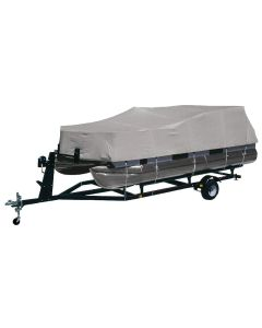 Dallas Manufacturing Co. Heavy-Duty 300 D Polyester Pontoon Cover - Fits 17' - 20' w/Beam Width to 102""