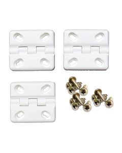 Cooler Shield Replacement Hinge f/Coleman & Rubbermaid Coolers - 3-Pack