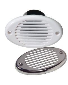 Innovative Lighting Marine Hidden Horn - White w/Stainless Steel Overlay