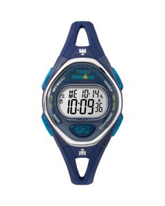 Timex IRONMAN Sleek 50 Mid-Size Silicone Watch - Navy