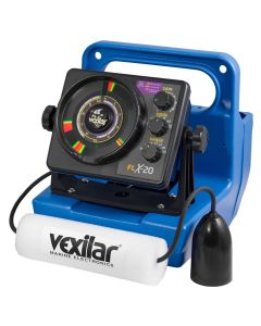 Vexilar FLX-20 Genz Pack w/12 degree Ice Ducer