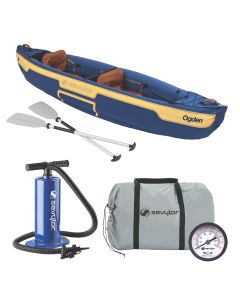 Sevylor OgdenInflatable Canoe Combo - 2-Person