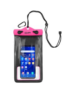 "Dry Pak Smart Phone/GPS/MP3 Case - Hot Pink - 5"" x 8"""