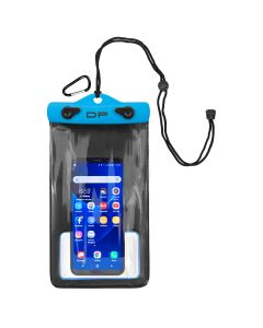 "Dry Pak Smart Phone/GPS/MP3 Case - Electric Blue - 5"" x 8"""