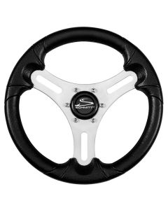 "Schmitt 13"" Torcello Lite - Polyurethane Wheel - 3/4"" Tapered Hub - Silver/Black"
