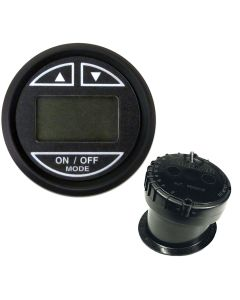 "Faria 2"" Depth Sounder w/In-Hull Transducer - Euro Black"