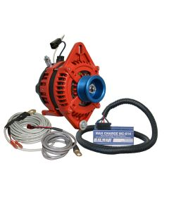 "Balmar Alternator 1-2"" Single Foot J10 Serpentine Pulley Regulator & Temp Sensor - 170A Kit - 12V"