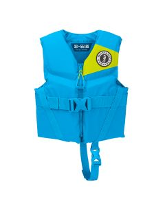 Mustang Rev Child Foam Vest - 30-50lbs - Azure Blue