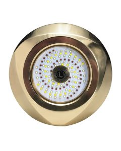 Lumitec Typhoon Underwater Bronze Thru-Hull LED Light - White/Blue