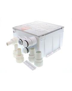 Rule Shower Drain Box w/800 GPH Pump - 24V