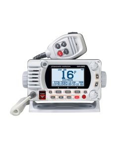 Standard Horizon GX1800G Fixed Mount VHF w/GPS - White