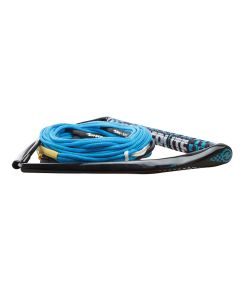 "Hyperlite 75' Rope w/Chamois Handle Fuse Mainline Combo - Blue - 5 Section - 15"" Handle"