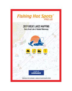 Fishing Hot Spots Pro GL 2019 Great Lakes Mapping Every Great Lake & Related Waterway for Lowrance & Simrad Units
