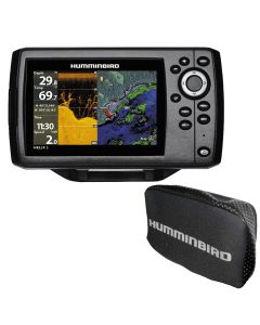 Humminbird HELIX 5 CHIRP DI GPS G2 Combo w/Free Cover