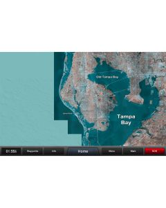 Garmin Standard Mapping - Florida West Pen Classic microSD/SDCard