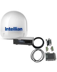 Intellian i5 All-Americas TV Antenna System + SWM16 Kit
