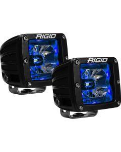 RIGID Industries RadiancePod Blue Backlight Black Housing - Pair