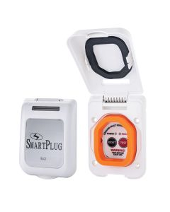 SmartPlug 30 Amp/50 Amp ELCI Sensor Non-Metallic Mounting Bracket - White