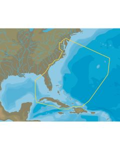 C-MAP NA-Y063 Chesapeake Bay to Cuba - microSD/SD