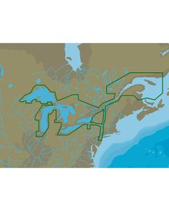 C-MAP NA-Y061 Great Lakes & St Lawrence Seaway - microSD/SD