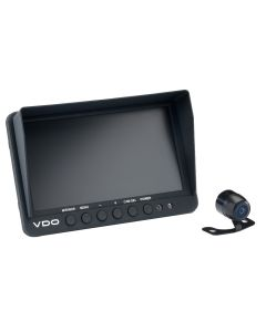 "VDO 7"" Display w/Rear View Black Mini Camera w/Parking Guide Lines"