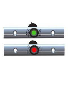 "TACO Rub Rail Mounted LED Navigation Light Set - 4"" w/Deutsch Plug Port & Starboard"