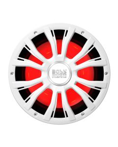 "Boss Audio MRG10W 10"" Marine 800W Subwoofer w/Multicolor Lighting - White"