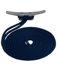 "Sea-Dog Double Braided Nylon Dock Line - 5/8"" x 35' - Navy"