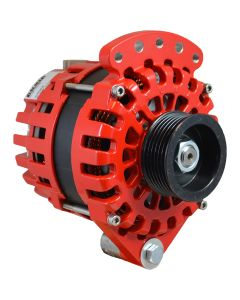 Balmar Alternator 170 Amp, 12V Single Foot Internal Regulator K6 Pulley
