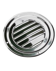 """Sea-Dog Stainless Steel Round Louvered Vent - 4"""""""